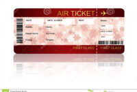 001 Free Plane Ticket Template Word Ideas Awesome Airline inside Plane Ticket Template Word