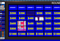001 Template Ideas 580D4B with Jeopardy Powerpoint Template With Score