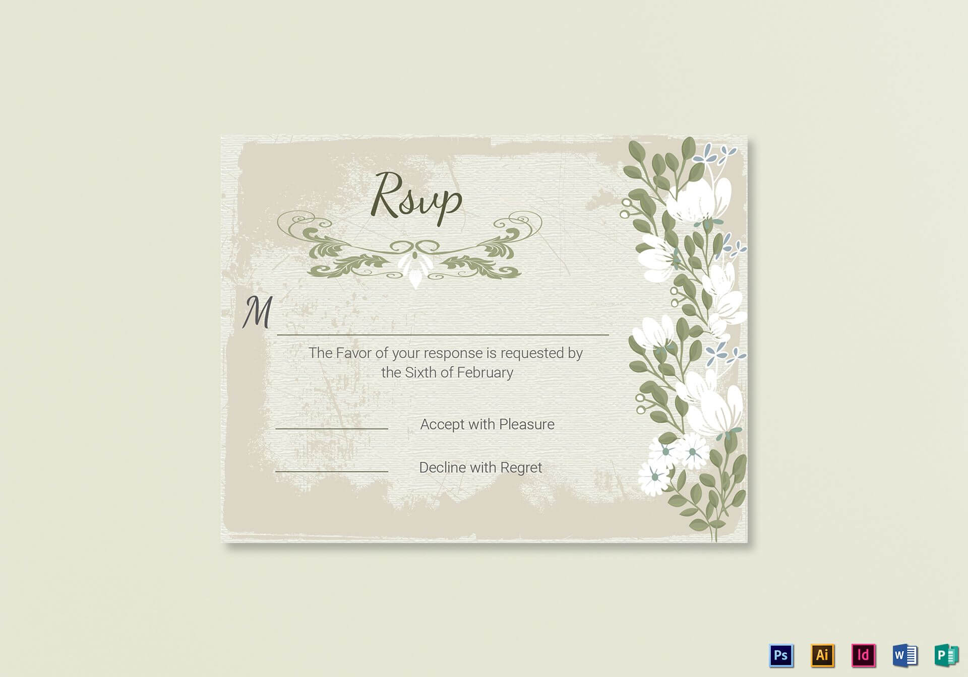 001 Template Ideas Wedding Rsvp Cards Incredible Templates In Template For Rsvp Cards For Wedding