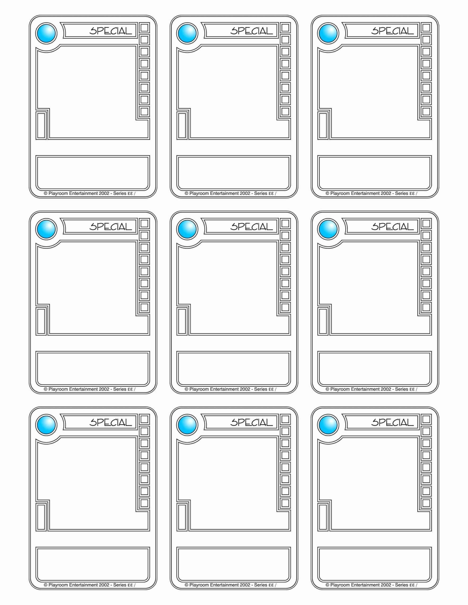 001 Trading Card Maker Free Examples Template For Success In With Template For Game Cards