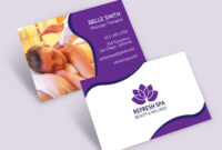 001 Word Image Best Business Card Templates Template Within Massage Therapy Business Card Templates