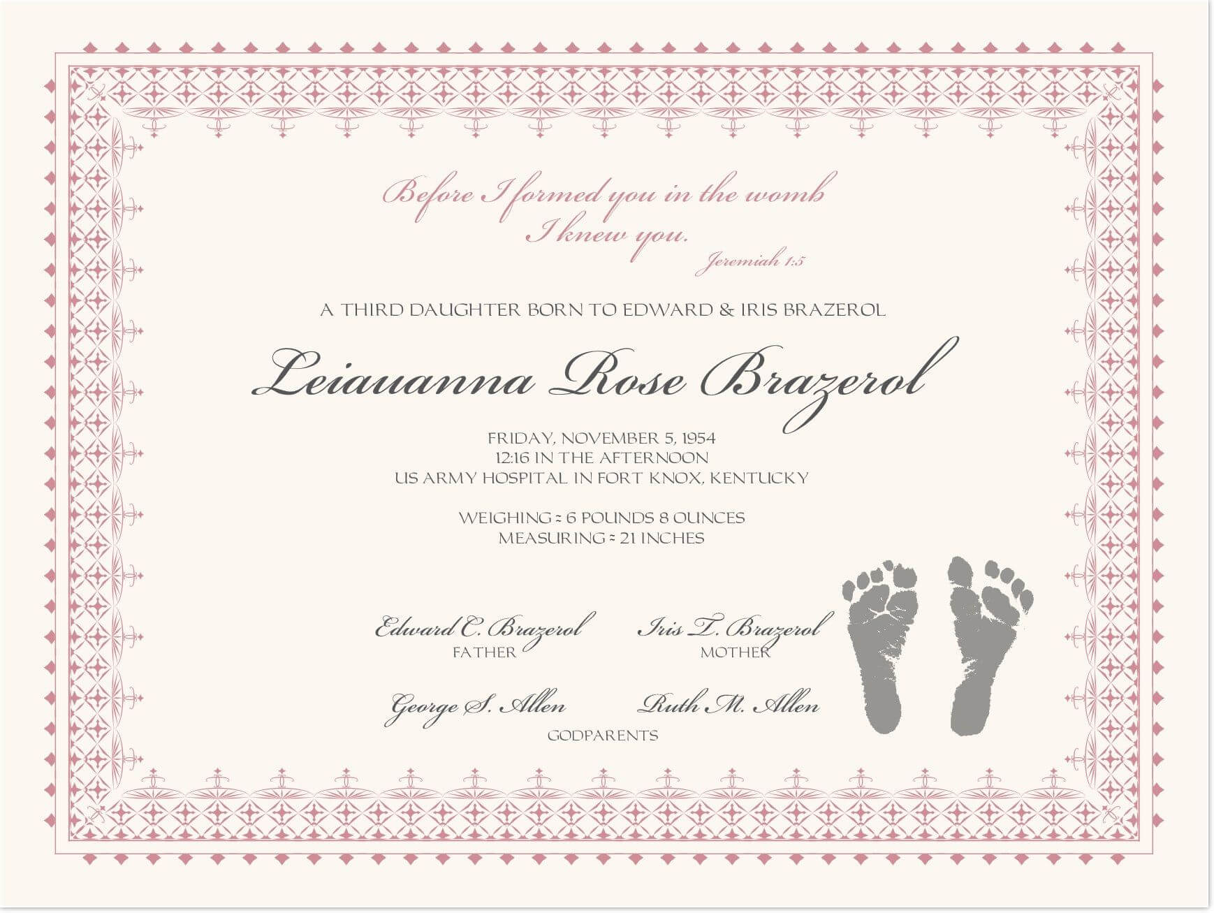 002 Baby Dedication Certificate Template Ideas Wonderful With Baby Christening Certificate Template