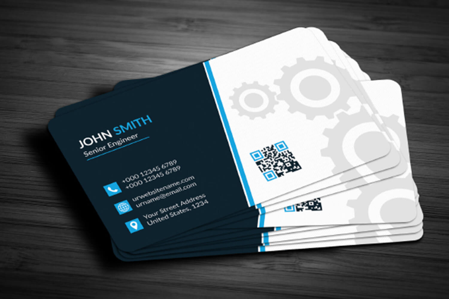 002 Business Card Template Free Download Ideas Downloadable Regarding Unique Business Card Templates Free