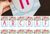 002 Diy Birthday Banner Template Free Ideas Happy Fresh with regard to Diy Banner Template Free