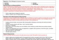 002 Job Description Template Word Rare Ideas Nz Format pertaining to Job Descriptions Template Word