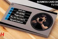 002 Photography Business Card Template Photoshop with Photography Business Card Template Photoshop
