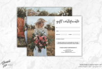 002 Photography Gift Certificate Template Stirring Ideas pertaining to Photoshoot Gift Certificate Template