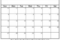 002 Template Ideas Blank Printable Calendar Striking Free inside Full Page Blank Calendar Template