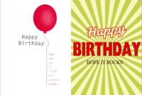 002 Template Ideas Creative Birthday Invitation Quarter Fold pertaining to Microsoft Word Birthday Card Template