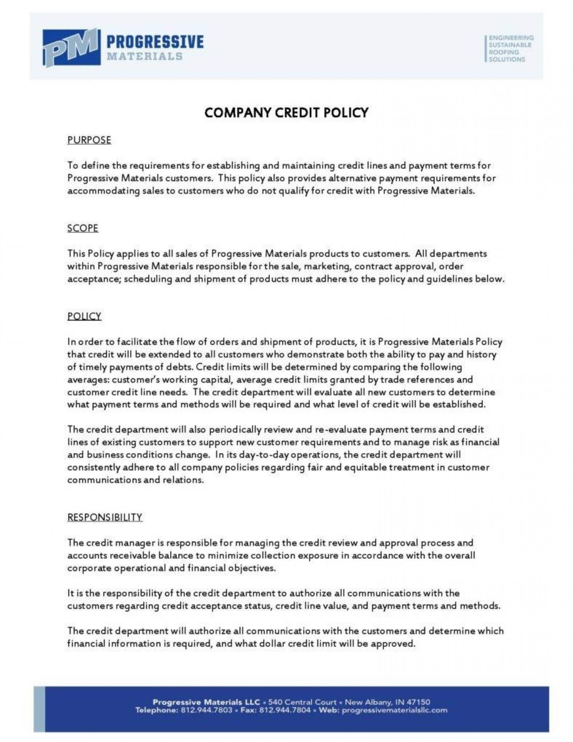002 Template Ideas Dress Code Policy Company Credit Page Intended For Company Credit Card Policy Template