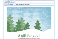 002 Template Ideas Free Holiday Email Formidable Templates inside Holiday Card Email Template