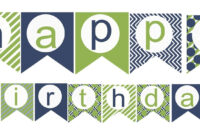 002 Template Ideas Happy Birthday Unbelievable Banner Free within Free Printable Party Banner Templates
