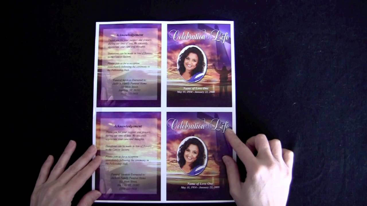 003 Funeral Memorial Cards With Regard To For Template Free Intended For Memorial Cards For Funeral Template Free