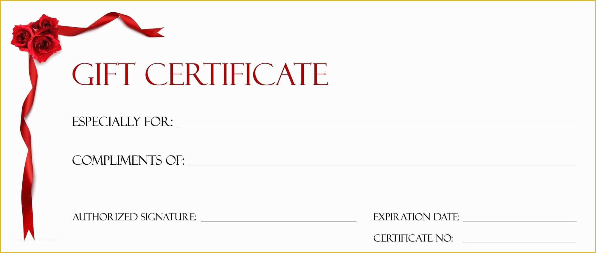 003 Gift Certificate Template Pages Free Printable Christmas Regarding Certificate Template For Pages