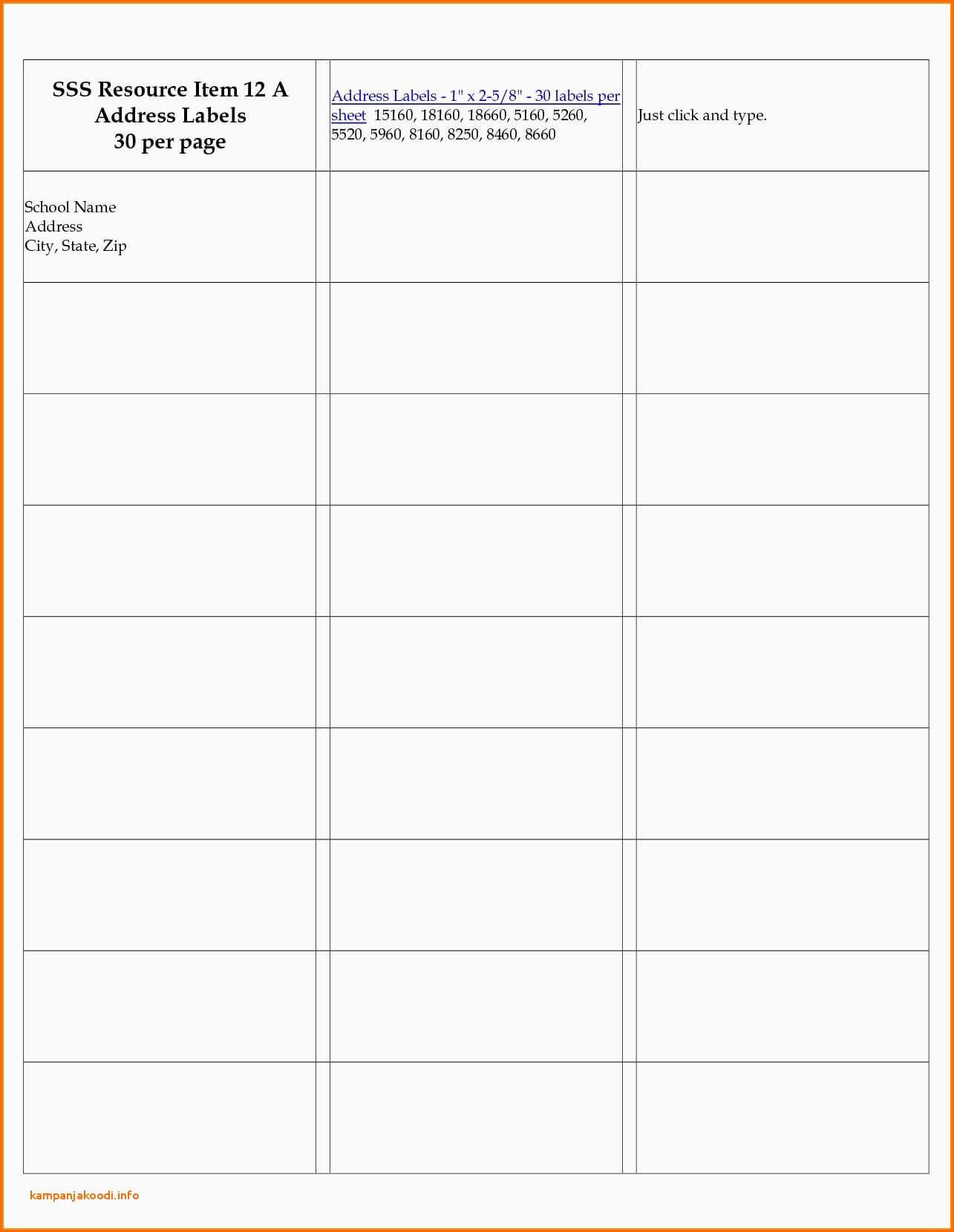 003 Label Templates For Word Per Sheet Labels Template With 8 Labels Per Sheet Template Word