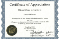003 Sports Certificate Of Appreciation Templates Free with regard to Athletic Certificate Template