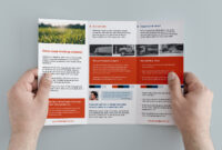 003 Template Ideas Free Corporate Trifold Brochure Tri Fold in Membership Brochure Template