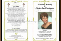 003 Template Ideas Funeral Program Templates Free Programs Pertaining To Memorial Brochure Template