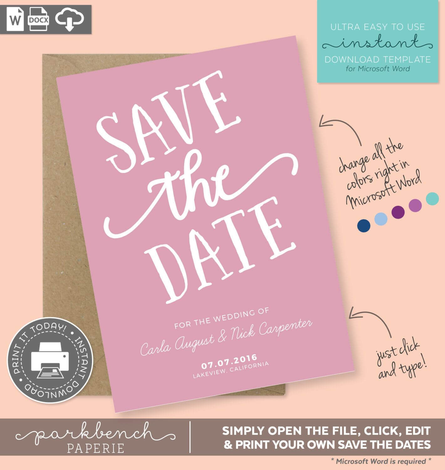 004 Save The Date Templates Word Template Frightening Ideas With Regard To Save The Date Templates Word