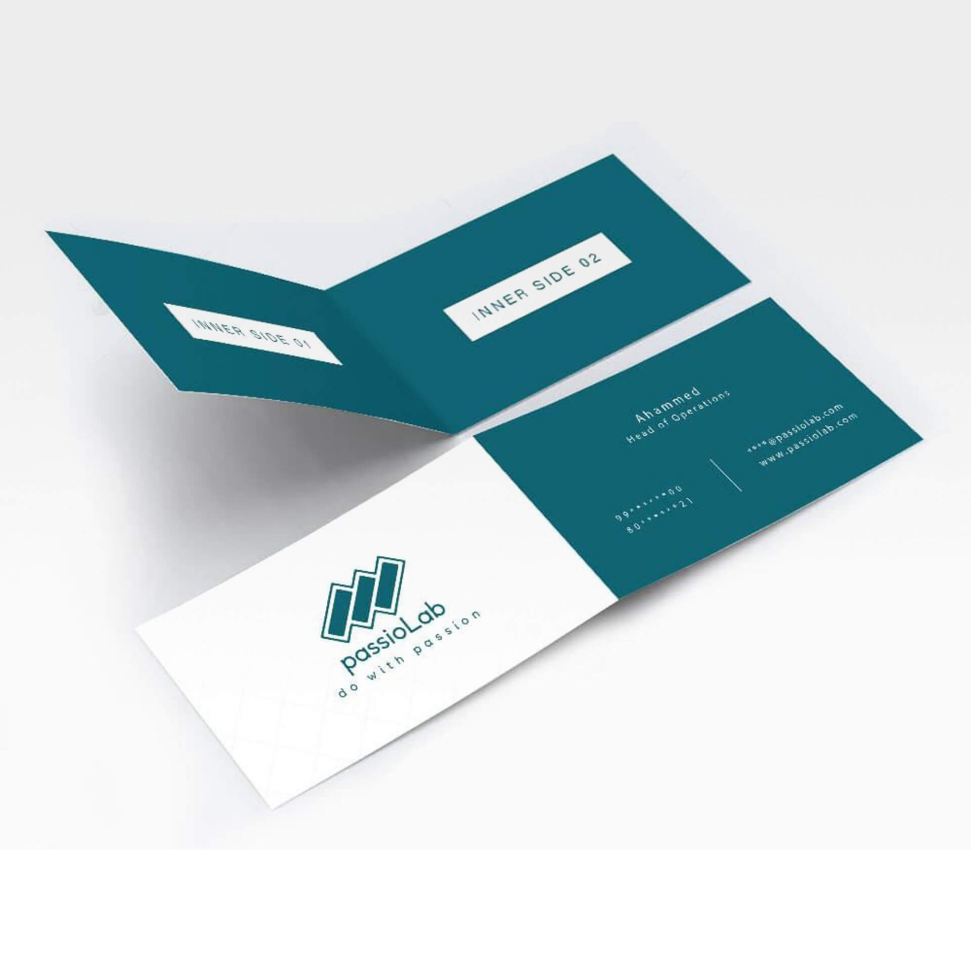 004 Template Ideas Folding Business Fascinating Card Tri In Fold Over Business Card Template