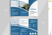 005 Business Tri Fold Brochure Layout Design Emplate Vector throughout Tri Fold Brochure Template Illustrator
