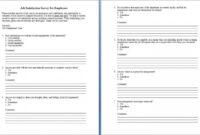 005 Employee Satisfaction Questionnaire Template Word Ideas Regarding Questionnaire Design Template Word