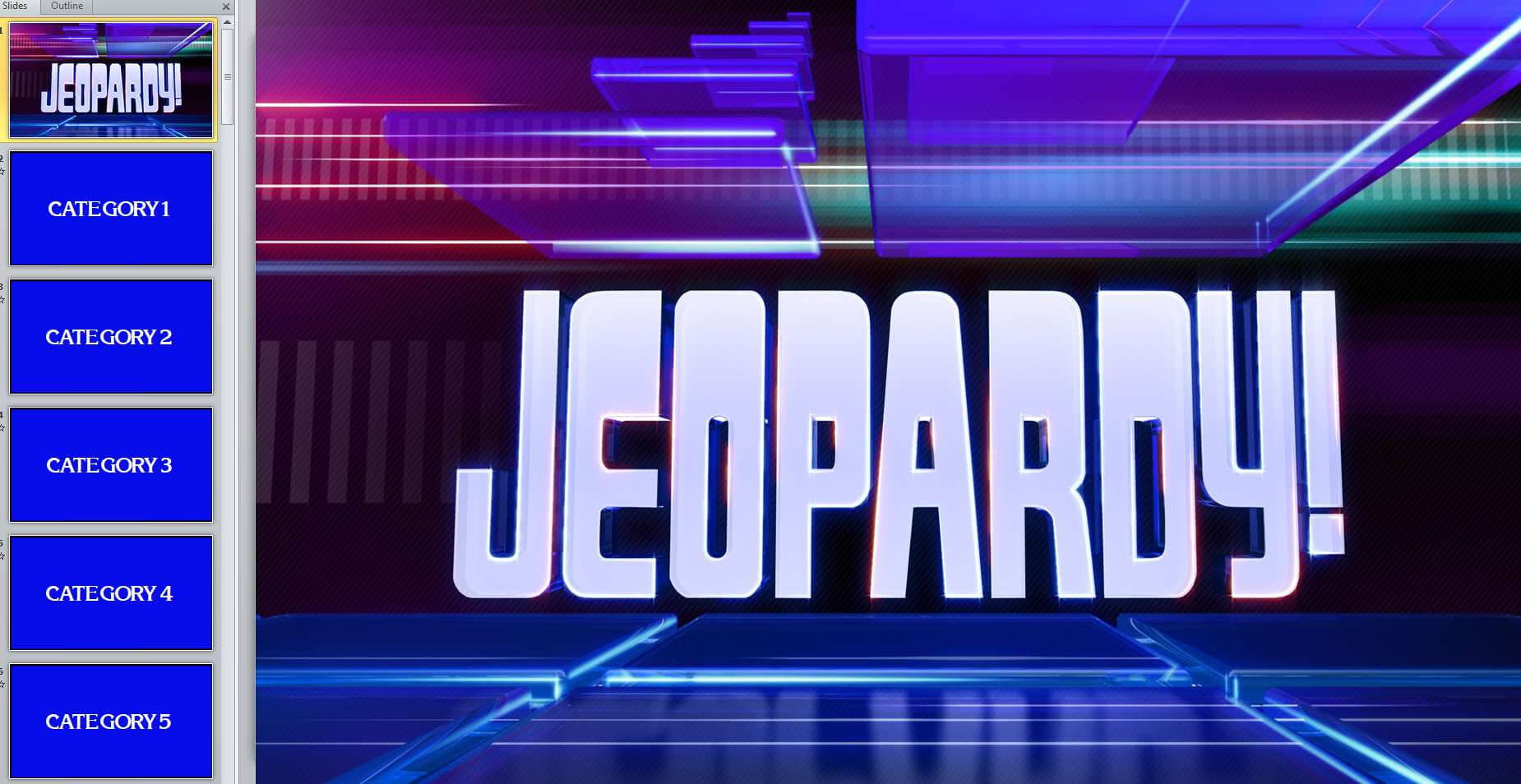 005 Jeopardy Powerpoint Template With Score Jeopardy2 Within Jeopardy Powerpoint Template With Score