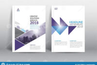 005 Modern Annual Report Template With Cover Design Vector for Cover Page For Annual Report Template