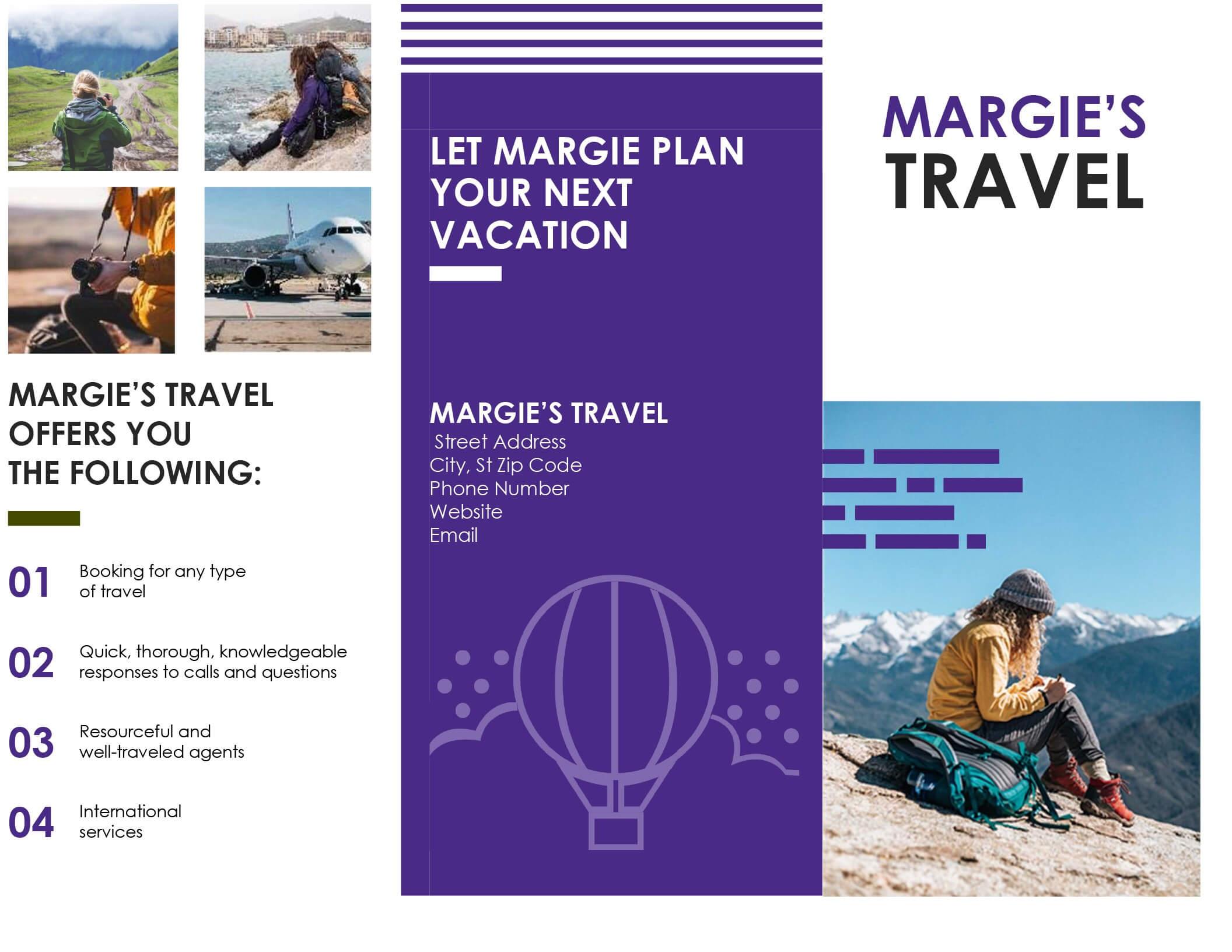 005 Template Ideas Travel Brochure Templates Free Download With Regard To Word Travel Brochure Template