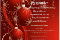 005 Word Christmas Party Invitation Template Flyer Templates with Free Christmas Invitation Templates For Word
