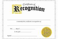 006 Certificate Employee Templatelab Com Of Appreciation within Funny Certificates For Employees Templates