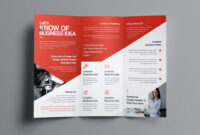006 Fold Brochure Template Free Download Psd Singular 2 with regard to 2 Fold Brochure Template Psd