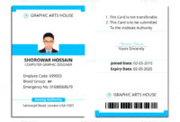 006 Id Card Template Word Ideas 1920X1920 Employee Microsoft regarding Id Card Template Word Free