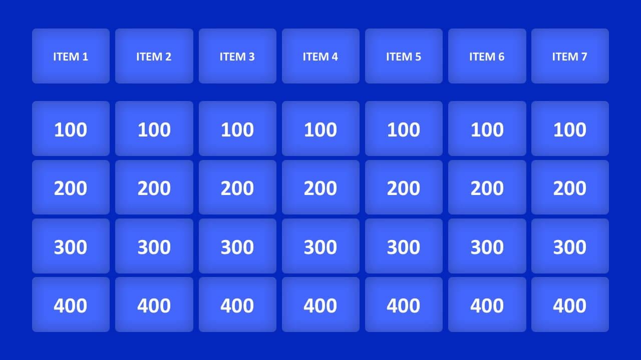 006 Jeopardy Powerpoint Template With Score Ideas 16X9 With Regard To Jeopardy Powerpoint Template With Score