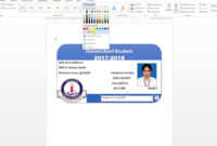 006 Template Ideas Id Badge Word Stirring Photo Download inside Employee Card Template Word