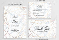 006 Wedding Set Save The Date Thank You And R S V P Cards intended for Template For Rsvp Cards For Wedding