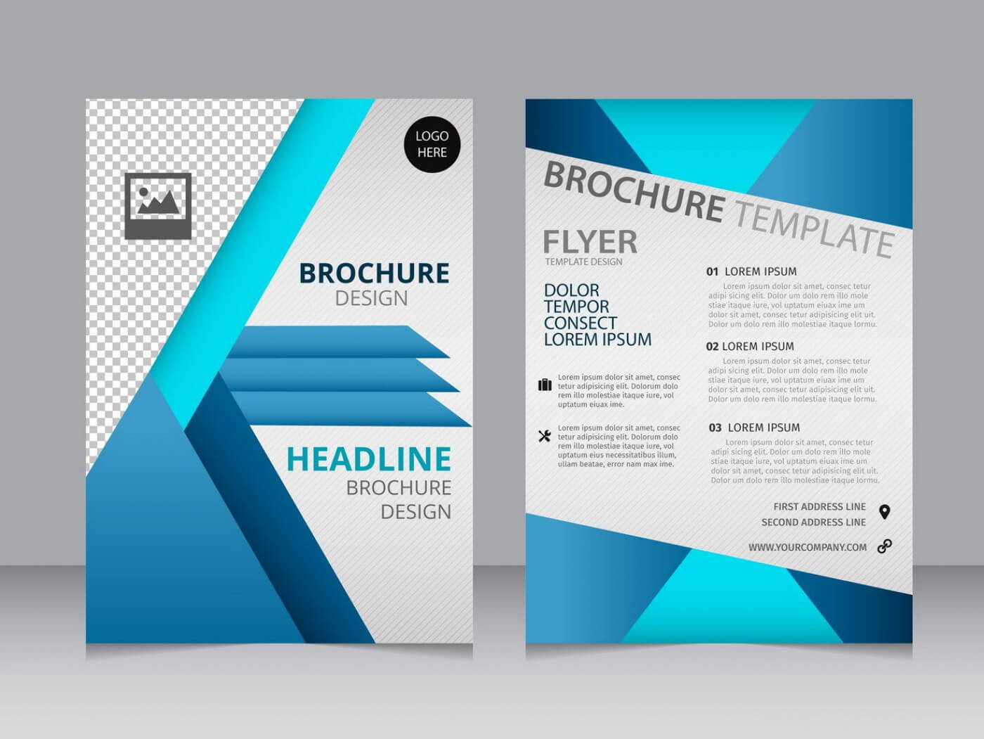 007 Blank Brochure Templates Free Download Word Template With Regard To Free Illustrator Brochure Templates Download