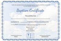 007 Certificate Of Baptism Template Ideas Unique Broadman inside Christian Certificate Template