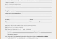 007 Donation Form Template Word Ideas 20Collection Of pertaining to Pledge Card Template For Church