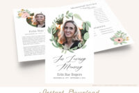 007 Template Ideas In Loving Memory Templates Fantastic Free in In Memory Cards Templates