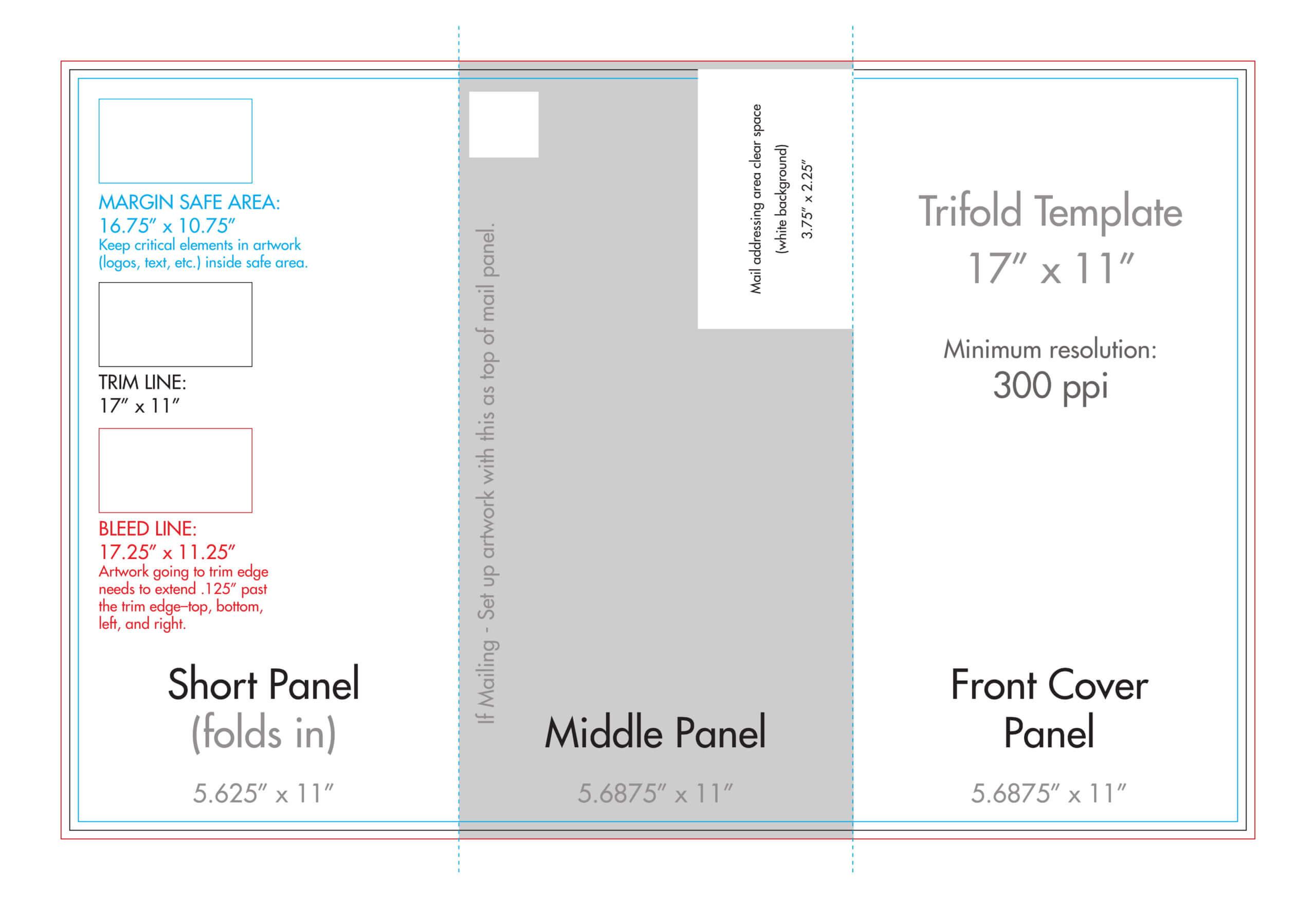 007 Template Ideas Trifold 11X17 Tri Fold Brochure With Regard To 11X17 Brochure Template