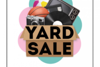 007 Yard Sale Flyer Template Word Ideas Yard2 within Yard Sale Flyer Template Word