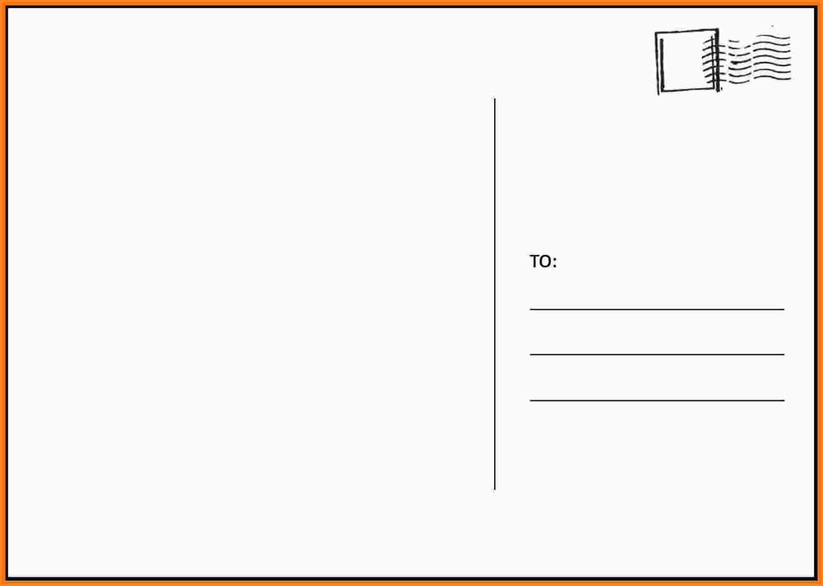 008 Free2Bprintable2Bpostcard2Btemplates2Bfree Blank Inside Free Blank Postcard Template For Word