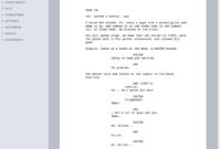 008 Microsoft Word Screenplay Template Ideas Remarkable 2010 for Microsoft Word Screenplay Template