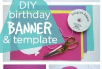 008 Template Ideas Happy Birthday Sign Awesome Word Banner inside Free Happy Birthday Banner Templates Download