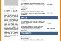 008 Template Ideas Resume Layout Word Cv Templates Microsoft throughout Resume Templates Word 2007