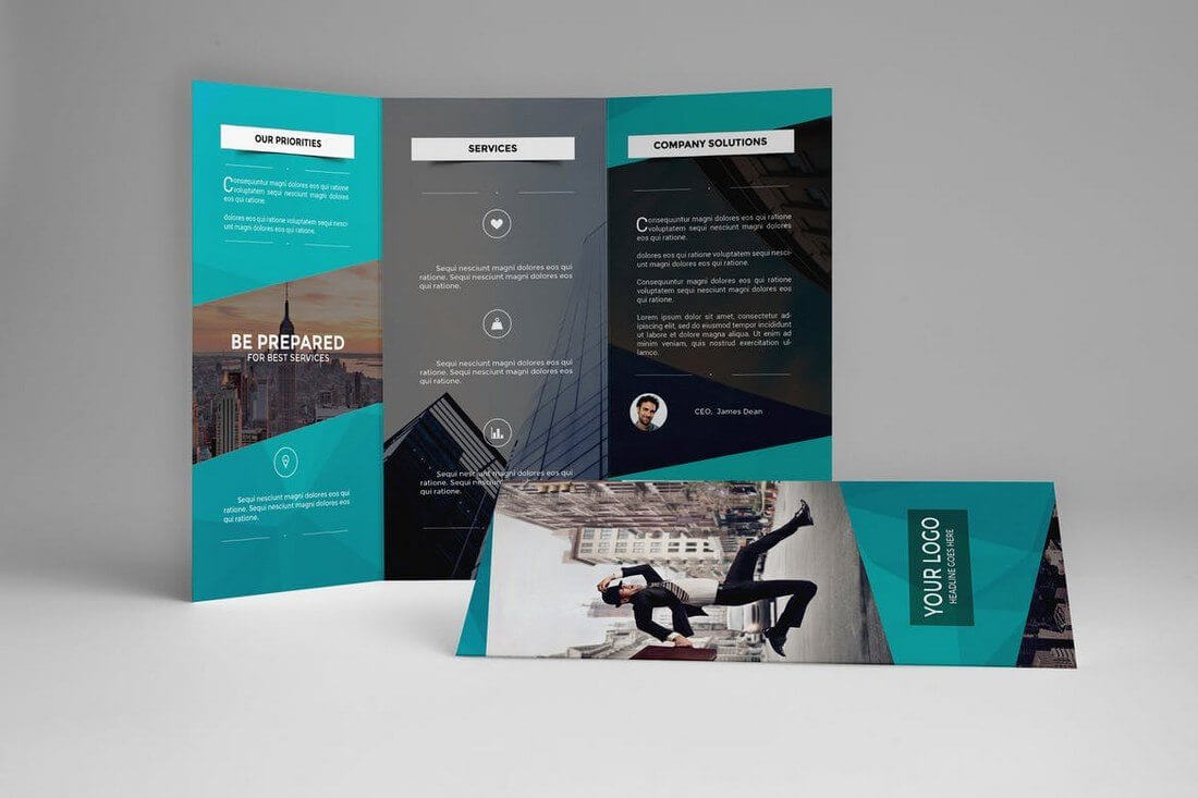 009 Brochure Templates Free Download Publisher Corporate Intended For Good Brochure Templates
