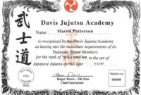 009 Martial Arts Certificate Templates Free Best Solutions regarding Free Art Certificate Templates