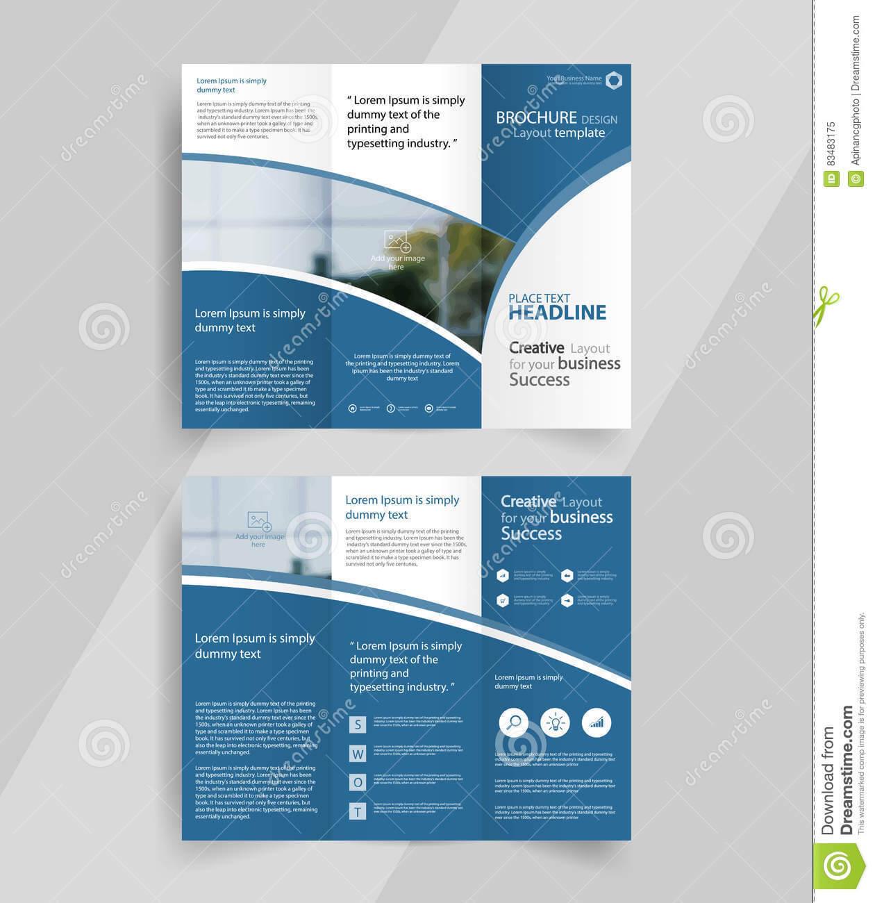 009 Tri Fold Brochure Template Free Download Ai Business Inside Adobe Illustrator Brochure Templates Free Download