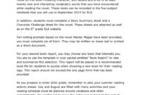 010 6Th Grade Book Report Template Ideas 3Rd Pdf Best Of pertaining to One Page Book Report Template